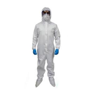 Overol De Alta Protección En PVC Reusable 128 Gr Covid 19 Coronavirus